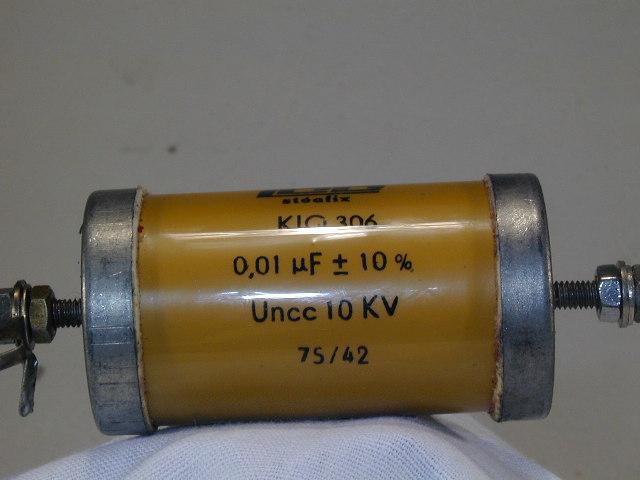 Kondensator steafix KIQ306 10nF 10KV - oznaczenie