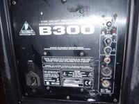 [Sprzedam] behringer B300 odsłuch aktywny 15 cali,spalony driver