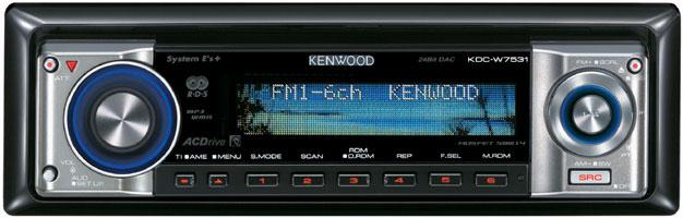 [Sprzedam]Radio Kenwood KDC-W7531 + Pilot RC-557 Wysoki Model