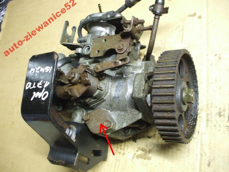 Opel Vectra A 1,7TD Isuzu pompa wtryskowa