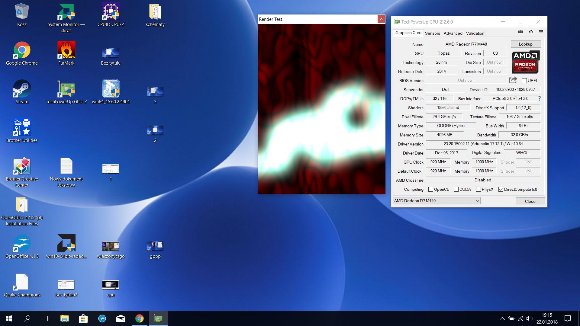 Rozwiązano] Dell Inspiron 5567 - Nie przełącza karty graficznej na