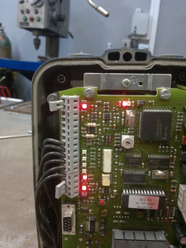 Demag DKES 5 DI - możliwa usterka, kaseta sterująca