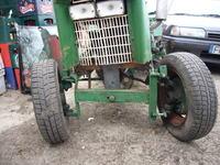 Traktorek Sam z silnikiem Mz 150