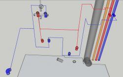 Remont łazienki w bloku - pytania odnośnie instalacji CWU, ZWU, kanalizacji, PEX