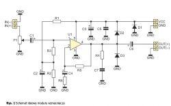 Pojemność kondensatora do eliminacji składowej stałej