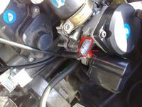 Skuter baotian BT49QT-12 brak w�zyka w gazniku