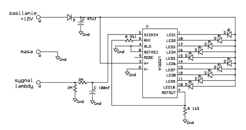 Sonda Lambda - monitor/tester/itp oznaczenie uk�adu