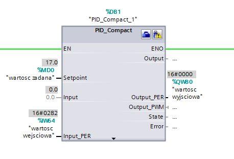 s7-1200 - regluator PID - grzanie/chlodzenie