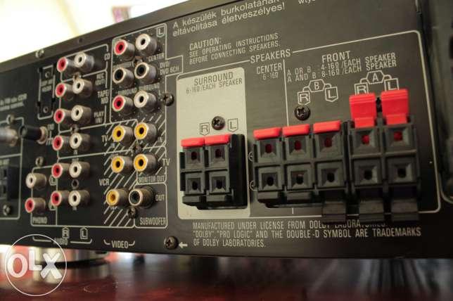Technics SA-AX540 - Pod��czenie dw�ch par kolumn