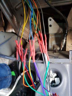 Matiz - Pocięte kable w matizie