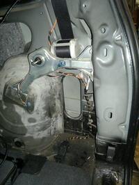 Mechanizm zamykania klapy samochodu