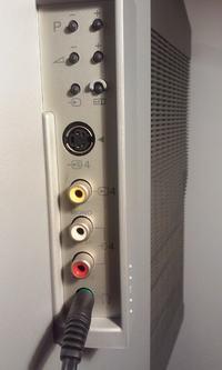Sony Trinitron KV-29FX66K - Podłączenie laptopa pod TV