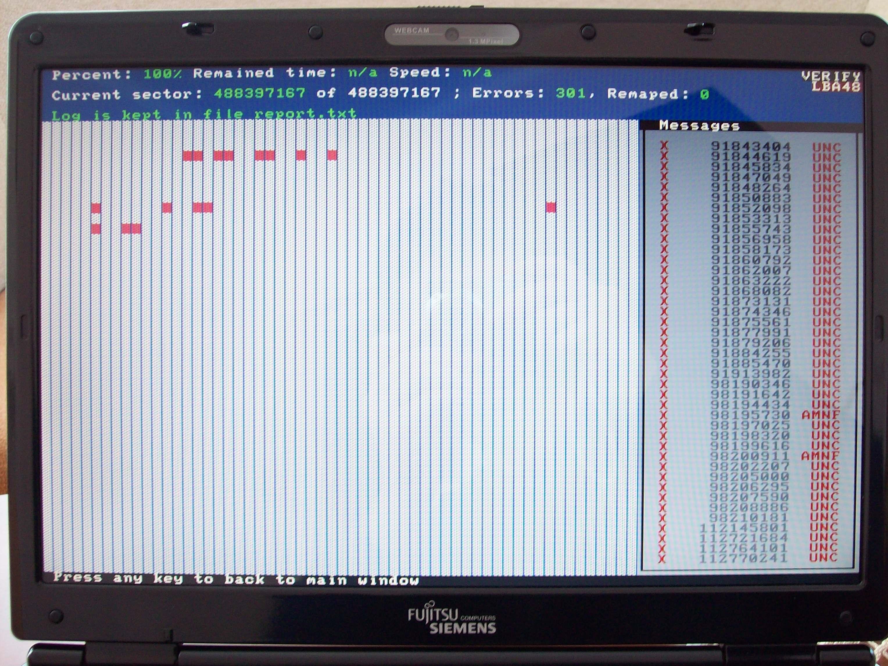 MHDD 4.6 - nie widzi dysku w laptopie
