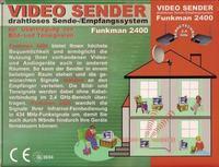 TRANSMITER AUDIO-VIDEO-przesyłanie obrazu i dźwięku 2,4 Ghz