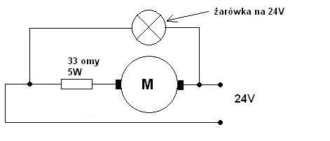 Jak zmienic napiecie z 24V na 12V do zasilenia koguta