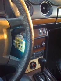 Wskażnik temperatury oleju roślinnego w samochodzie