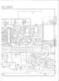 Panasonic-TX-21JTP3 pasy na ekranie