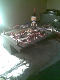 Wzmacniacz lampowy stereo 6P14P-EV SE