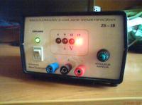 Regulowany zasilacz symetryczny 6-15V 1A
