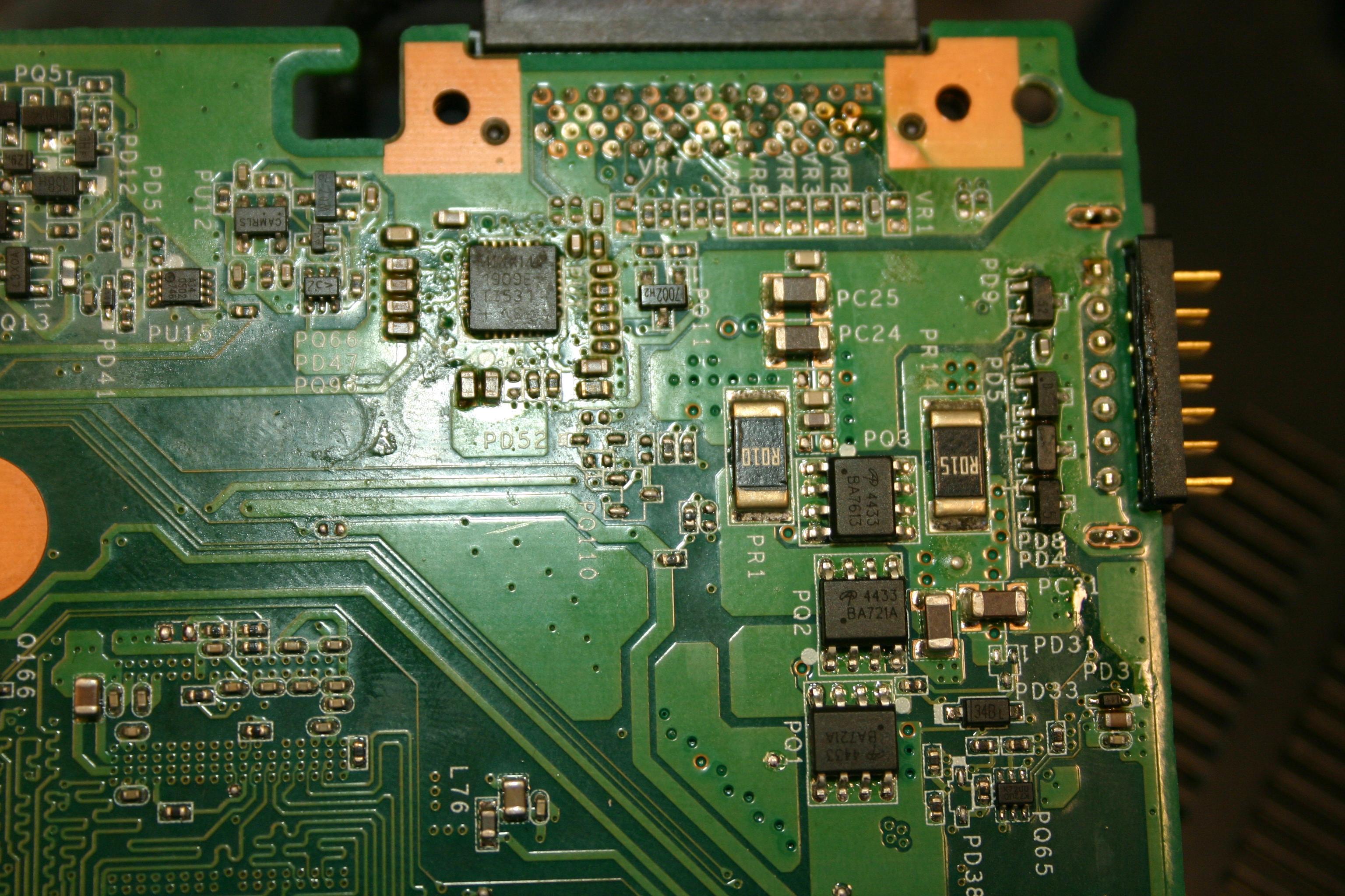 Sony VAIO PCG 8112L nie wykrywa baterii i brak ładowania