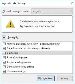 Firefox quantum 59.0 64 bit źle wyświetla/rozbija strony