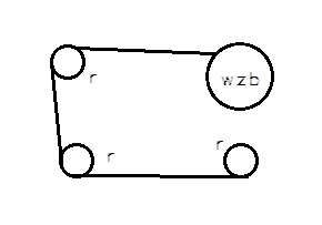 Pomiar siły linki stalowej nawijanej na bęben