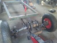 Spalinowy pojazd Zdalnie sterowany 4x4
