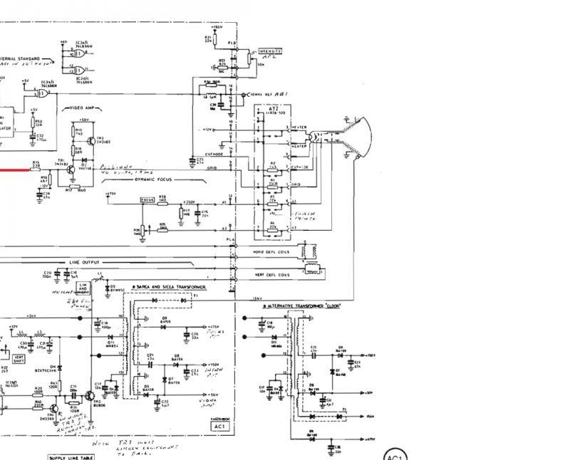 Marconi 2955A - Wyjście na monitor LCD Video