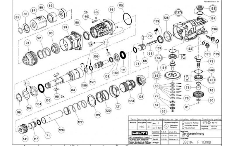 Hilti Te 72 Parts Diagram