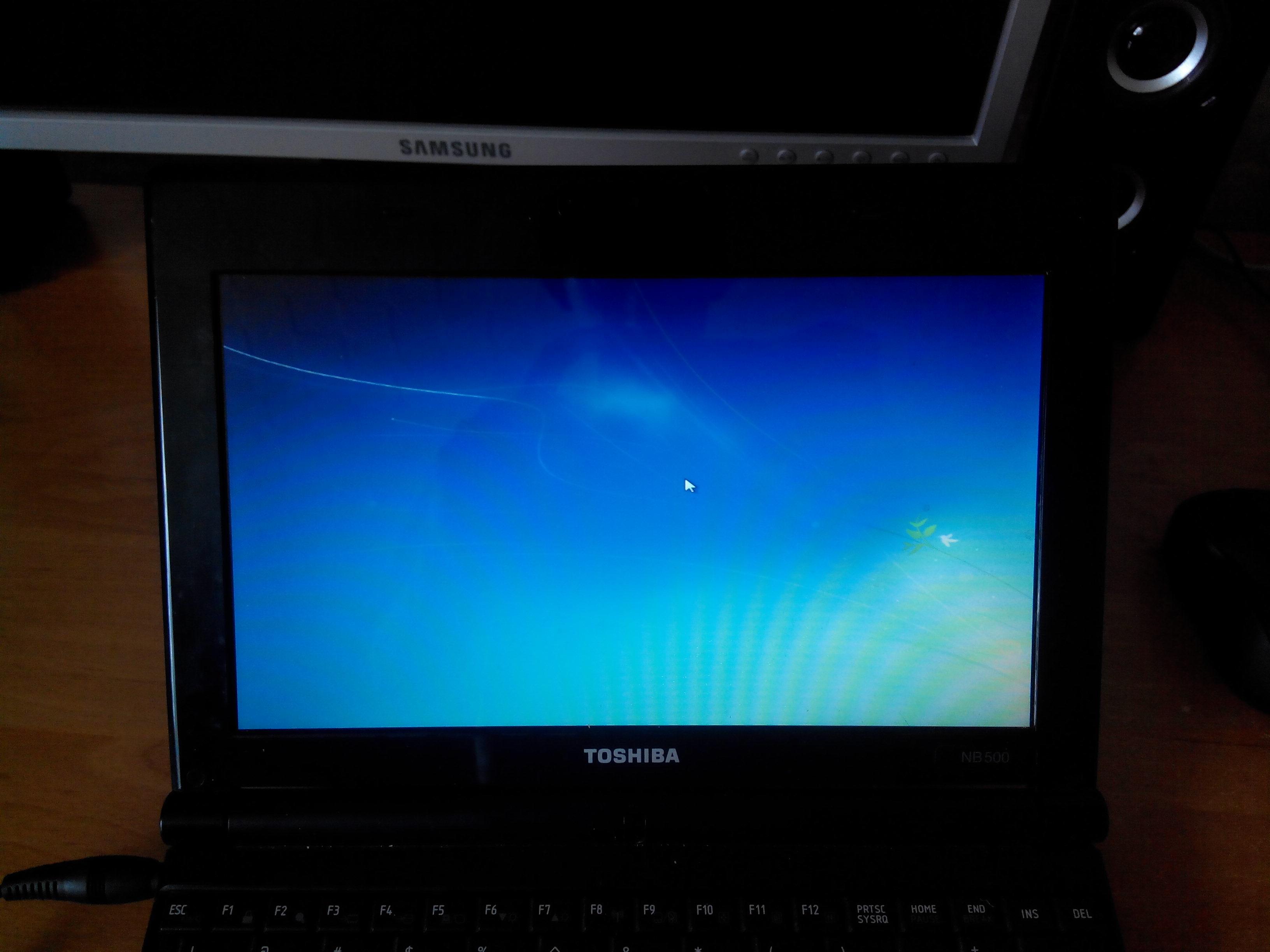 Toshiba NB500 - Nie mo�na uruchomi� przywracania systemu
