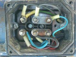 podłączenie l0p pod silnik jednofazowy