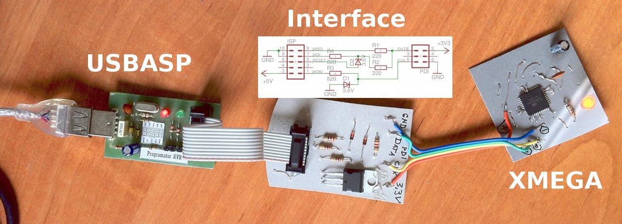 Programator ATxmega za z�ot�wk�, czyli obs�uga PDI w USBASP
