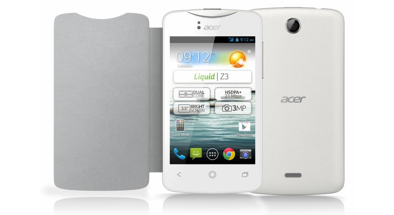 Acer Liquid Z3 - smartphone Android 4.2 i Dual SIM za 99 euro