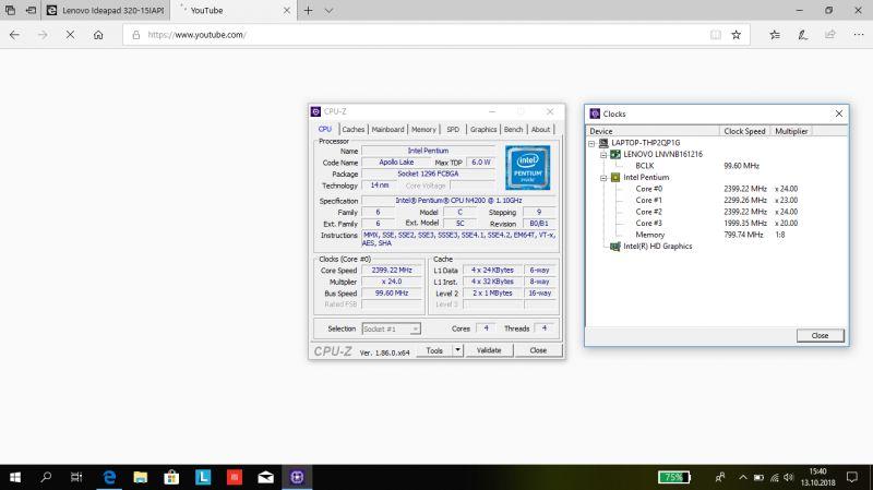 Lenovo Ideapad 320-15IAPDXK5 - Wysokie wykorzystanie procesora w nowym komputerz