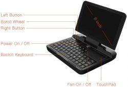 MicroPC - laptop z 6-calowym ekranem, Celeron N4100 i Windows 10 Pro (Indiegogo)