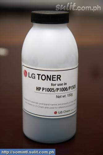 HP 2605dn - czarny toner nie działa tylko na swoim miejscu