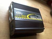 Przetwornica AZO 12V DC / 230V AC - nie dzia�a