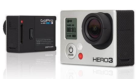 GoPro HERO3 - trzy wersje nowej sportowej kamery z WiFi
