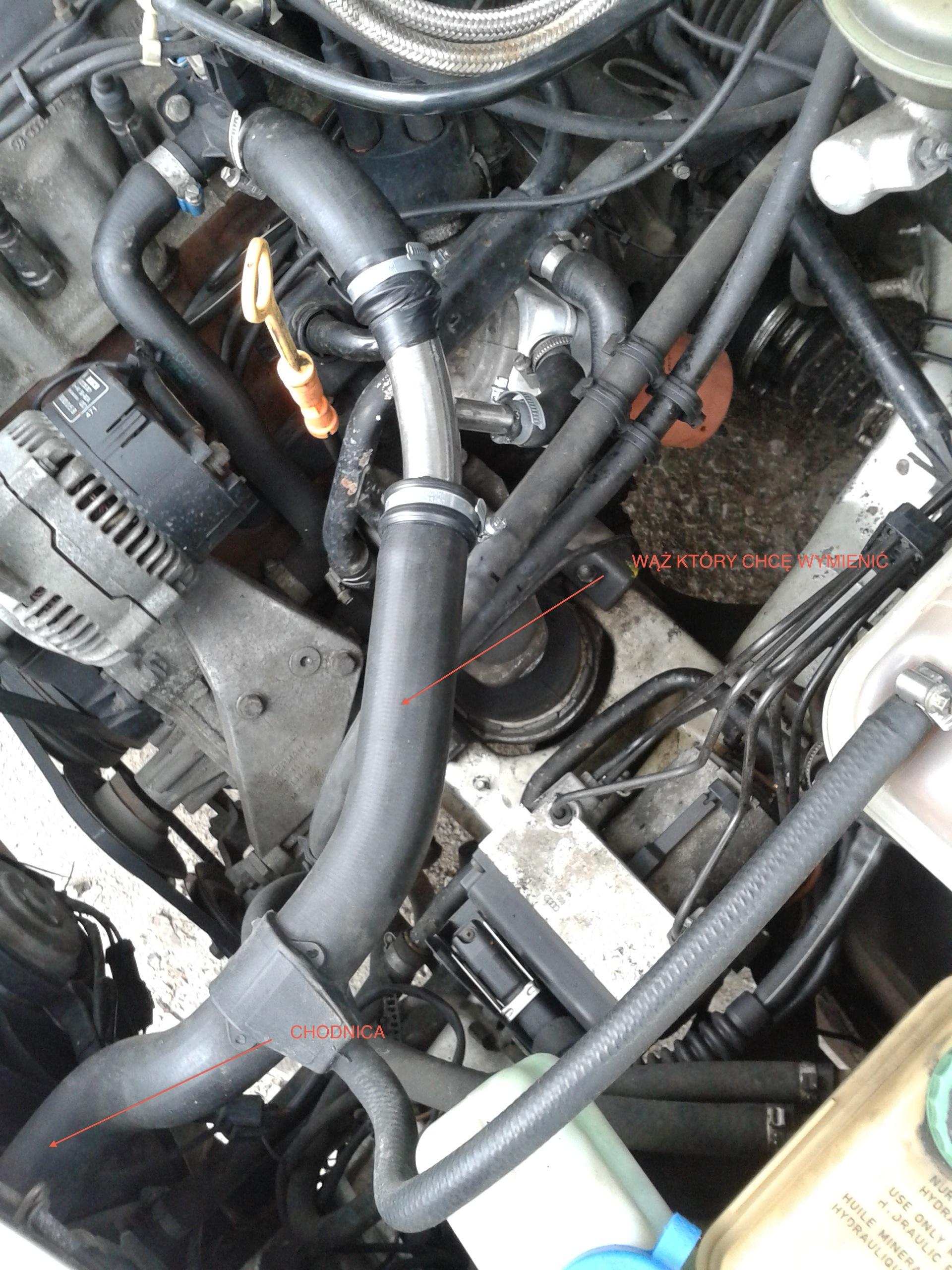Audi A6 C4 ABK 95 r po p�kni�tej pompie oleju, zalaniu uk�adu ch�odzenia...
