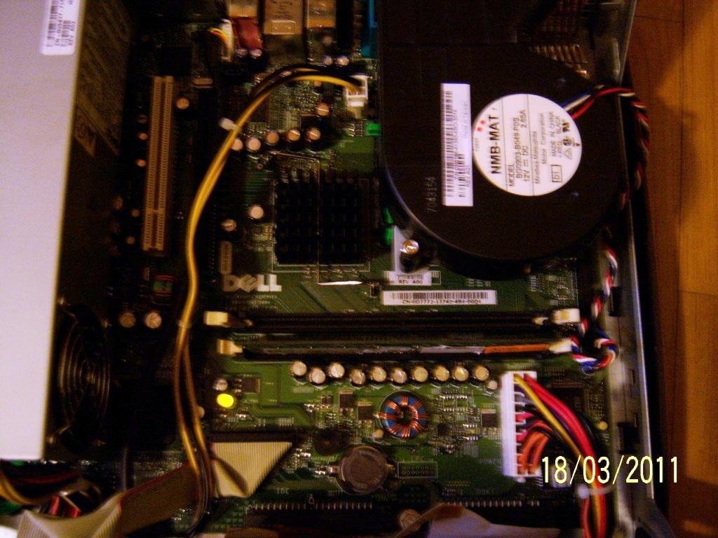 Dell  INC. DHP nr. DOYZF1J brak startu, wiatraki pracuj�