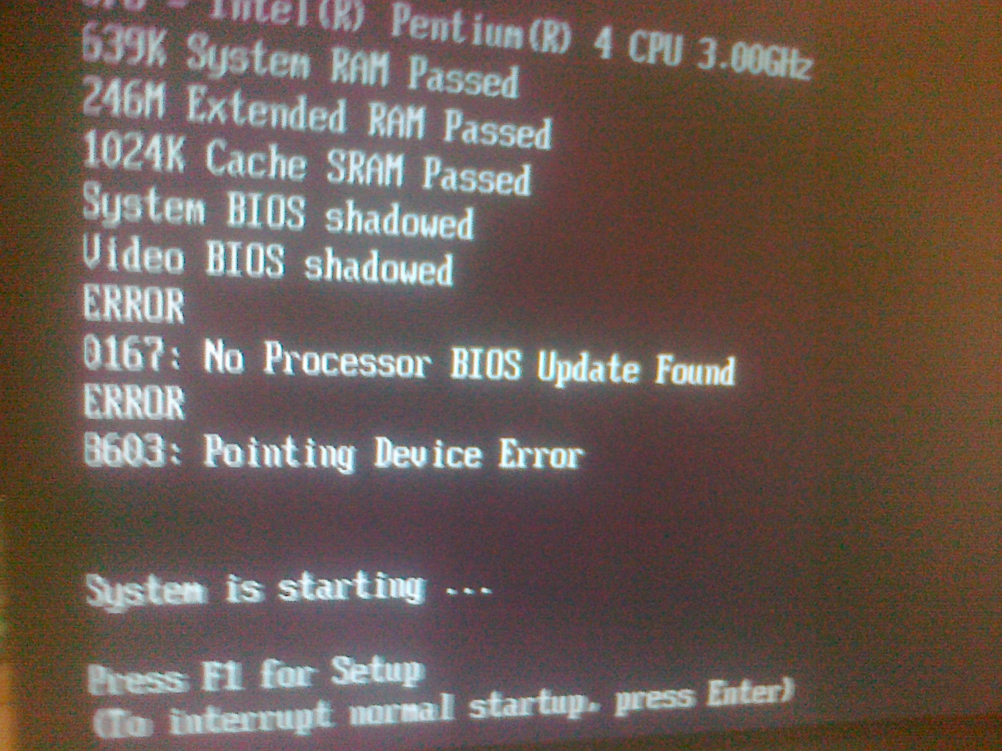 IBM BIOS 2akt40AUS flash. Wykonanie flasha BIOS-u.