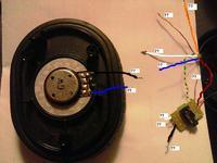 Słuchawki Creative Fatal1ty HS-980 okablowanie