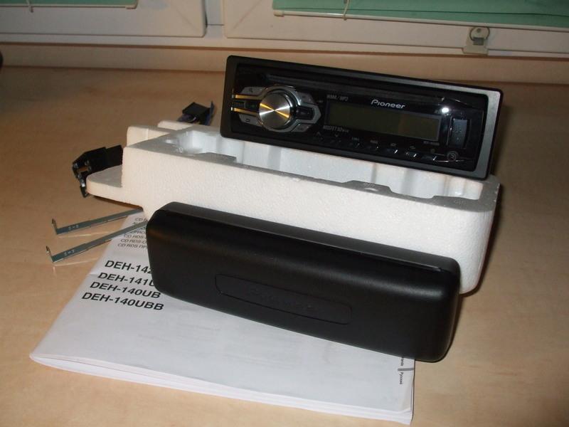 [Sprzedam] Radio samochodowe Pioneer DEH-140UBB USB MP3 CD