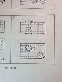 Wymiarowanie tulei - grafika inżynierska
