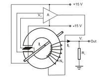halotronowy czujnik prądu - wątpliwość odnośnie kompensacji