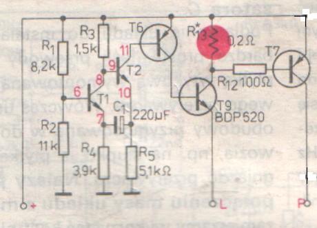 elektroniczny przerywacz kierunkowskazów do cz 350 (472.5)