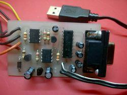 Interfejs RS 232 do instalacji gazowej.