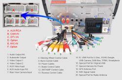 """Erisin ES4822S 7"""" - Jak wyłączyć funkcję kamery cofania"""