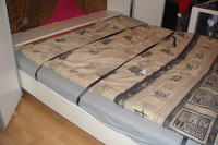 Podnoszenie łóżka na siłownikach elektrycznych