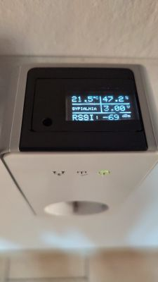 Radiowy czujnik temperatury i wilgotności + bramka, Supla